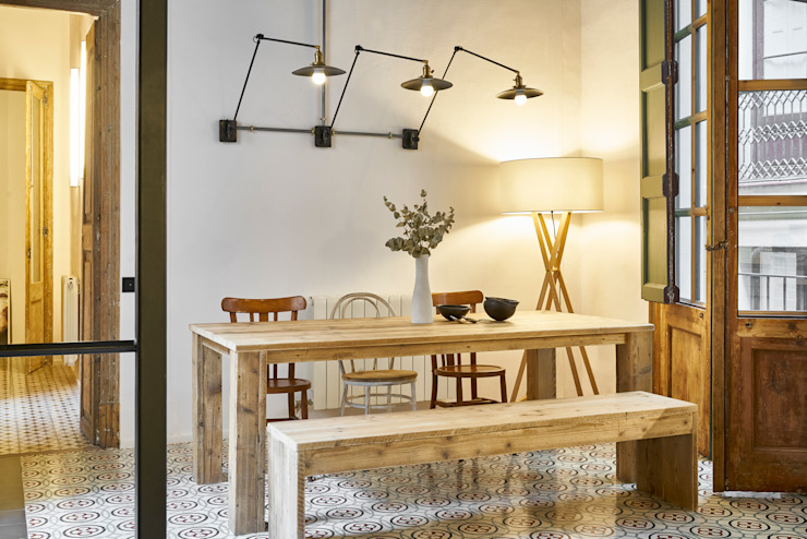ROSIC APARTMENT Bloomint design Comedores de estilo mediterráneo