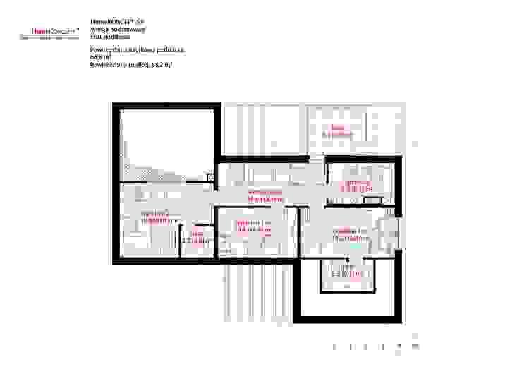 HomeKONCEPT | Projekty Domów Nowoczesnych의 현대 , 모던