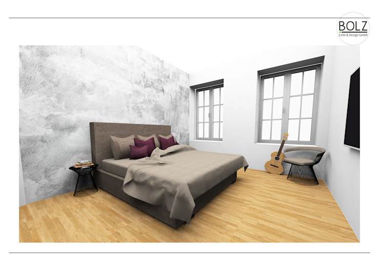 Schlafzimmer Moderne Schlafzimmer von Bolz Licht und Wohnen · 1946 Modern