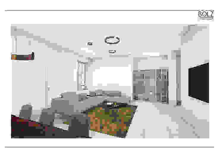 Offener Wohnbereich Moderne Wohnzimmer von Bolz Licht und Wohnen · 1946 Modern