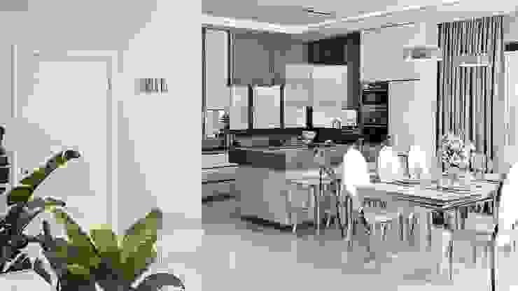 Modern kitchen by GLAM PROJECT Sp. z o.o. Modern