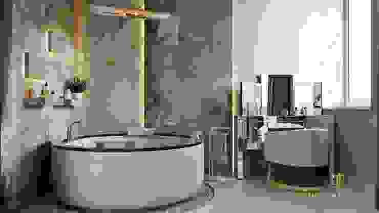 Modern bathroom by GLAM PROJECT Sp. z o.o. Modern