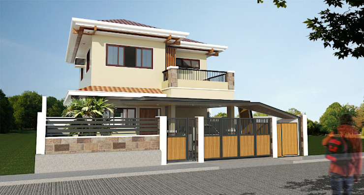 Major renovation and expansion project in Talisay City - Exterior by homify Modern