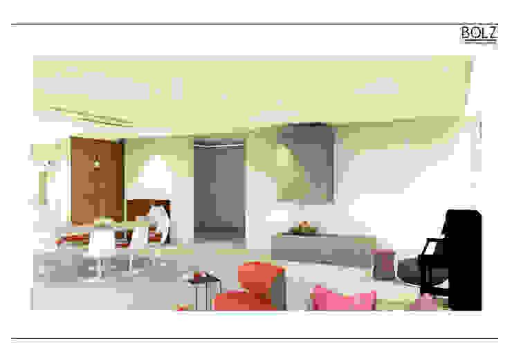 Offener Wohn- und Essbereich Moderne Wohnzimmer von Bolz Licht und Wohnen · 1946 Modern