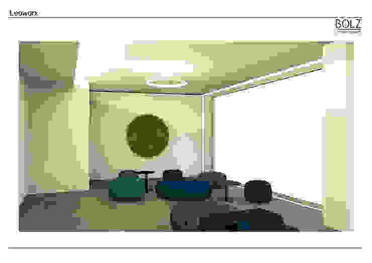 Loungebereich Moderne Bürogebäude von Bolz Licht und Wohnen · 1946 Modern
