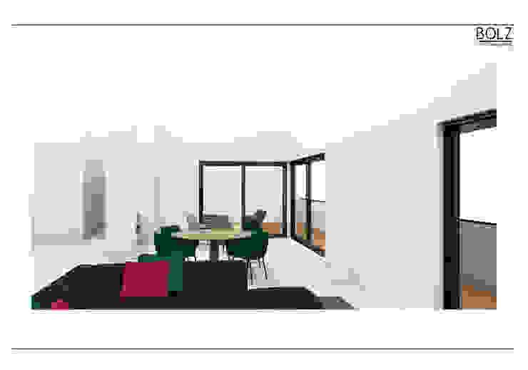Offener Essbereich Moderne Wohnzimmer von Bolz Licht und Wohnen · 1946 Modern