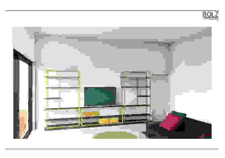 Wohnwand Moderne Wohnzimmer von Bolz Licht und Wohnen · 1946 Modern