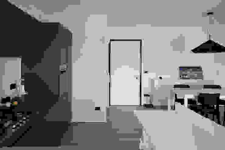 Margherita Mattiussi architetto Ruang Keluarga Modern