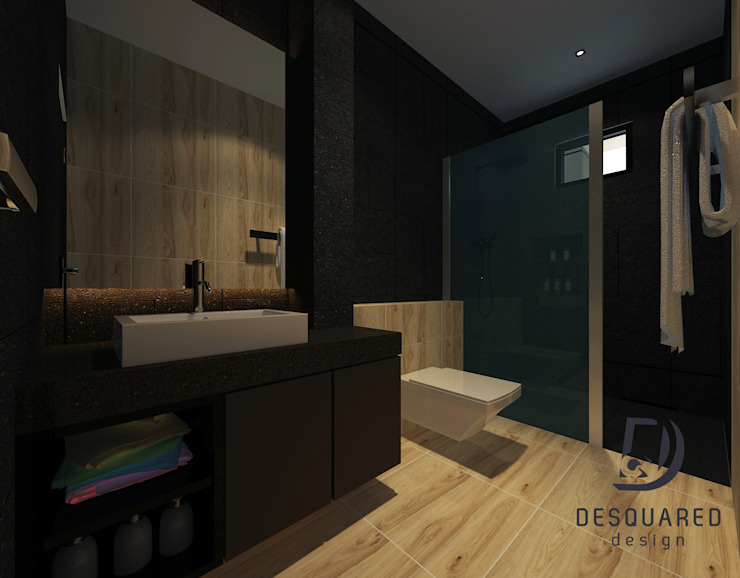 Master Bathroom Modern style bathrooms by Desquared Design Modern