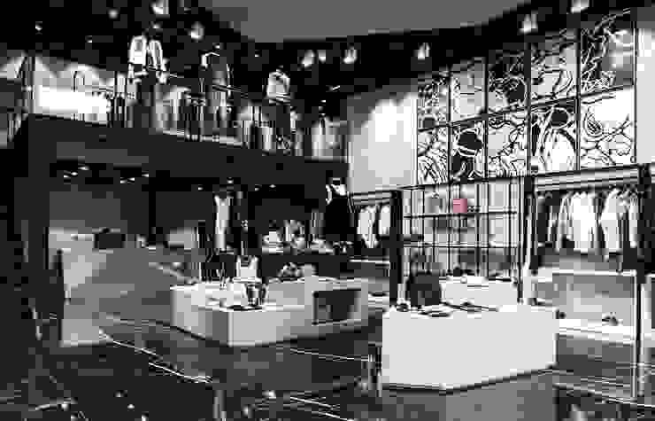 Distinqt Lifestyle Store by Pluszerotwo Design Studio Industrial