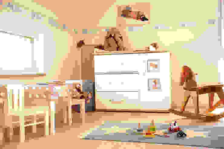 Freundliches Kinderzimmer Living Fertighaus GmbH Moderne Kinderzimmer
