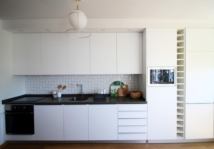 Cozinha Cozinhas escandinavas por Rima Design Escandinavo