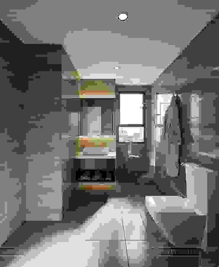 THIẾT KẾ CĂN HỘ CAO CẤP WILTON TOWER – Đẹp thanh lịch trong từng đường nét Phòng tắm phong cách kinh điển bởi ICON INTERIOR Kinh điển