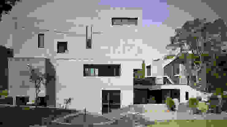 Rumah Modern Oleh 形構設計 Morpho-Design Modern