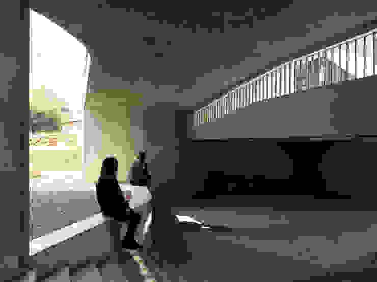 Nhà để xe/nhà kho phong cách hiện đại bởi 形構設計 Morpho-Design Hiện đại