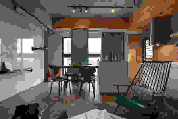 拼貼旅居 根據 御見設計企業有限公司 工業風