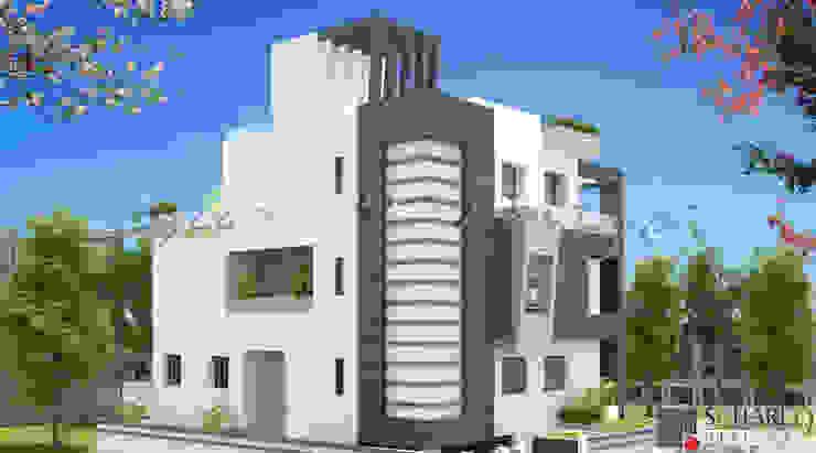 SAJJAN KEDIA 1 Square Designs Modern houses