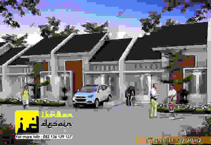 Rumah type 30 Oleh Ikhwan desain Minimalis Batu Bata