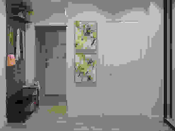 Новое Коридор, прихожая и лестница в скандинавском стиле от ДОМ СОЛНЦА Скандинавский