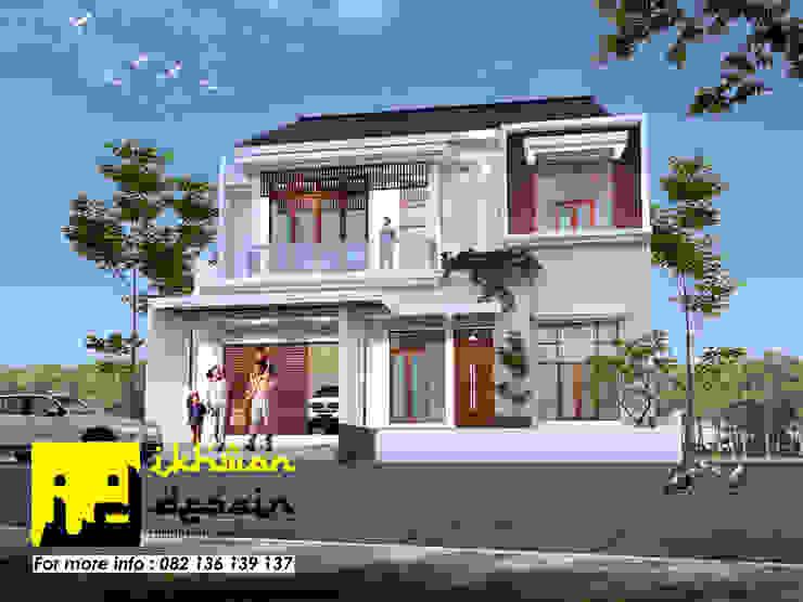 Rumah Modern Classic Oleh Ikhwan desain Klasik Beton Bertulang