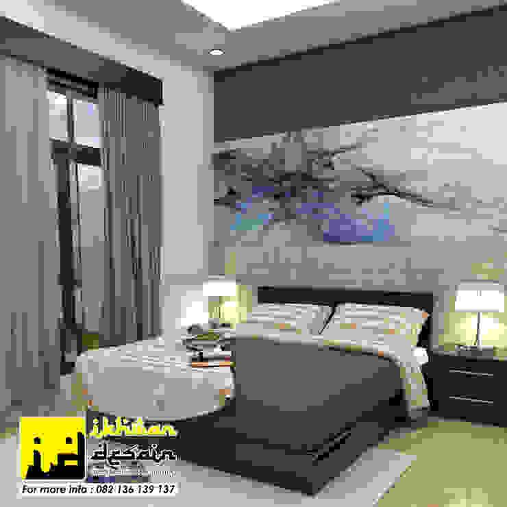 Interior Rumah Dinas Kamar Tidur Minimalis Oleh Ikhwan desain Minimalis Batu Bata