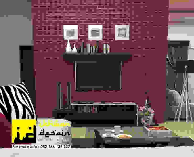 Desain Interior Ruang Keluarga Minimalis Oleh Ikhwan desain Minimalis Batu Bata