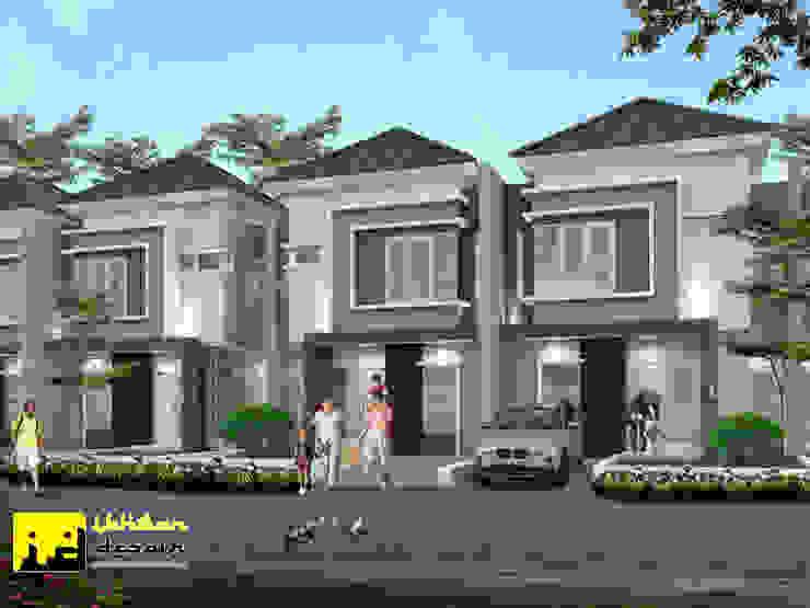 Rumah type 69 Oleh Ikhwan desain Minimalis Batu Bata