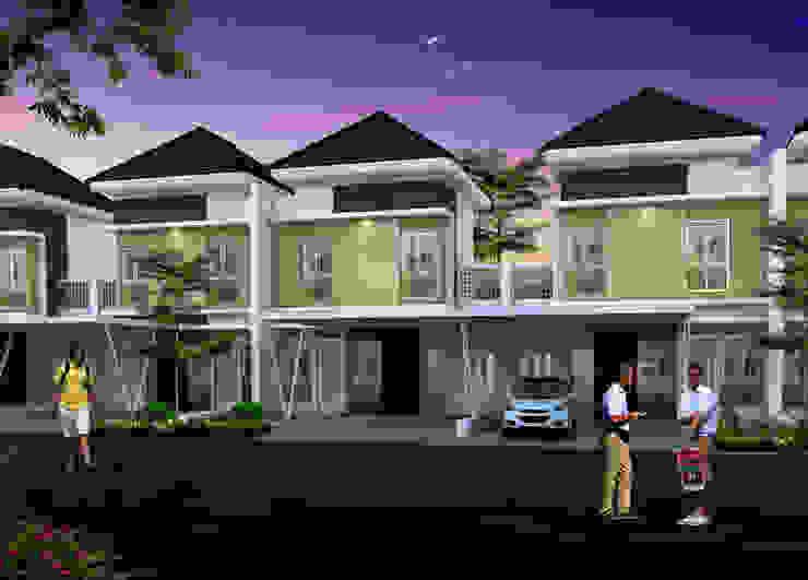 Rumah type 52 Oleh Ikhwan desain Minimalis Batu Bata