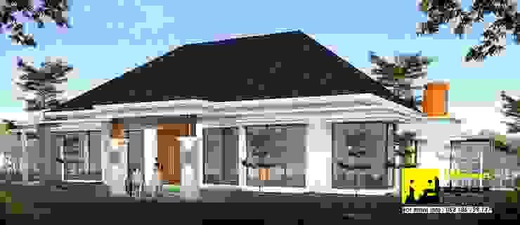Rumah Modern Tropis Oleh Ikhwan desain Tropis Batu Bata