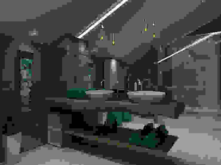 Scandinavian style bathroom by Angelourenzzo - Interior Design Scandinavian
