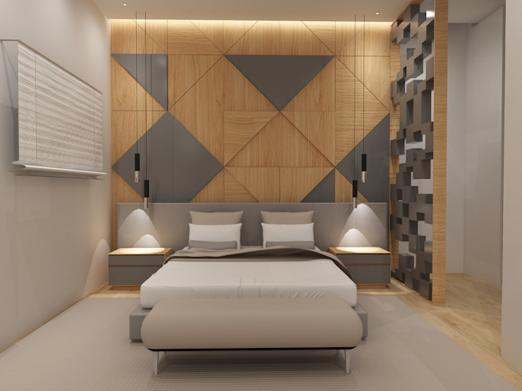 Dormitorios de estilo escandinavo de Angelourenzzo - Interior Design Escandinavo