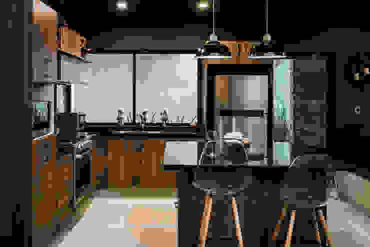 Loft Concord Arquitectos Ejecutivos Cocinas equipadas Acabado en madera