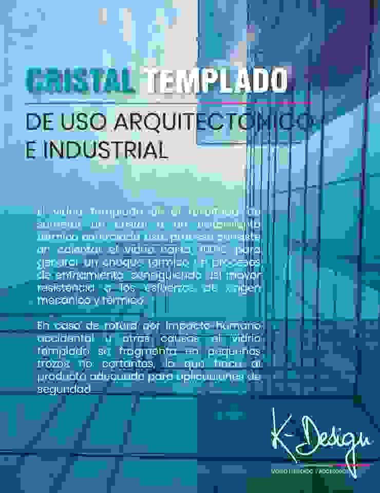 Soluciones en vidrio templado de .K-Design arquitectura y diseño interior