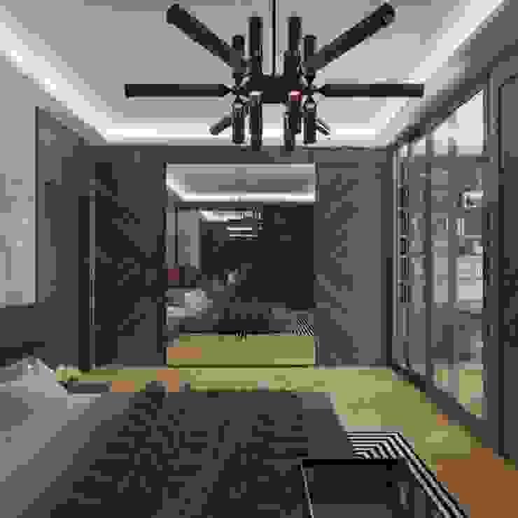 Ankara Park Vadi Ev Projesi homify Modern Yatak Odası
