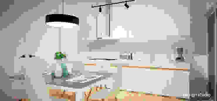 Slice House Pluszerotwo Design Studio Minimalist dining room