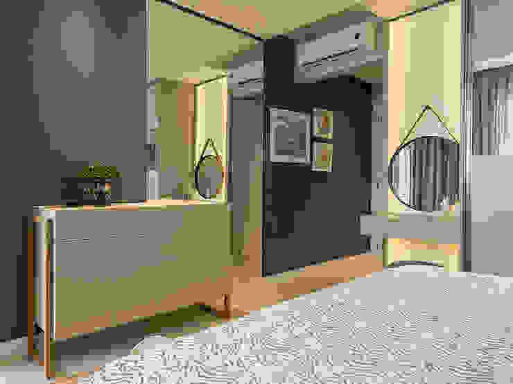 Modern style bedroom by Espaço do Traço arquitetura Modern