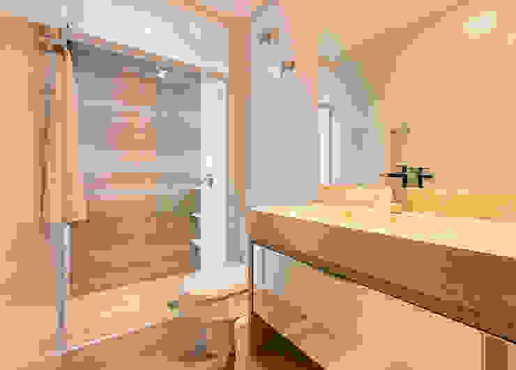Banheiro da suíte 2 Espaço do Traço arquitetura Banheiros modernos