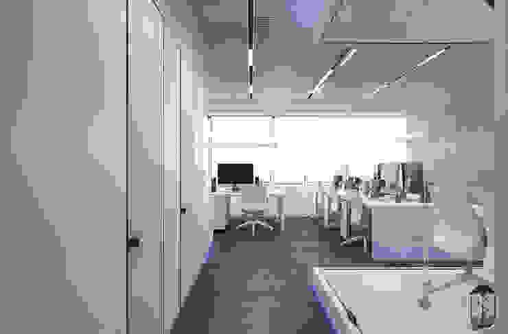 Espaços de trabalho minimalistas por U-Style design studio Minimalista