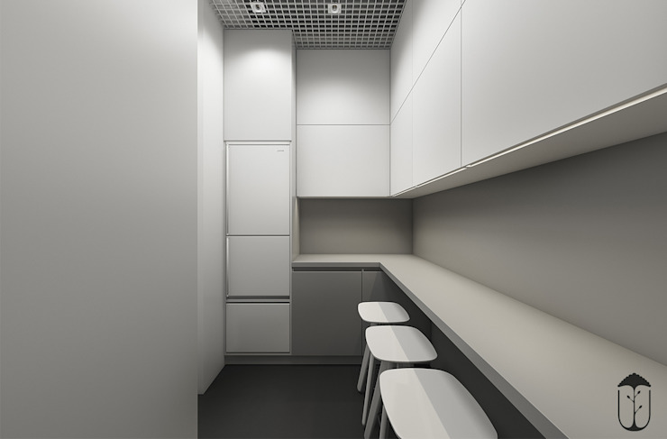 Cozinhas minimalistas por U-Style design studio Minimalista