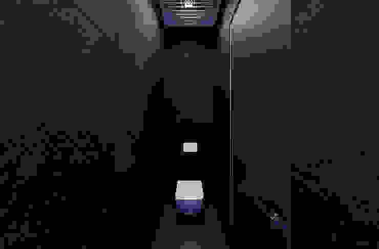Casas de banho minimalistas por U-Style design studio Minimalista