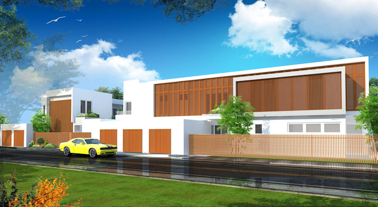 Modern Minimalist Design Minimalist house by E V Design + Architects Minimalist