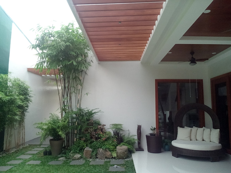 Modern Minimalist Design Minimalist style garden by E V Design + Architects Minimalist