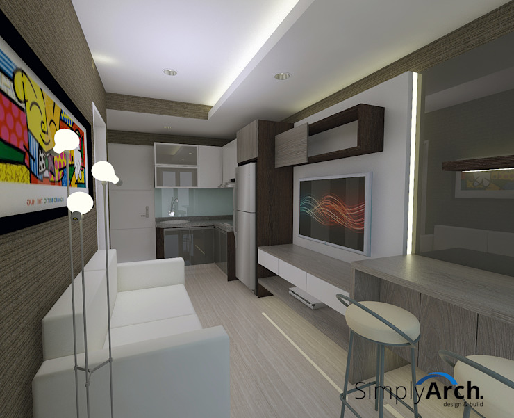 Compact Apartment @ Ayodya Tangerang by Simply Arch. Minimalist