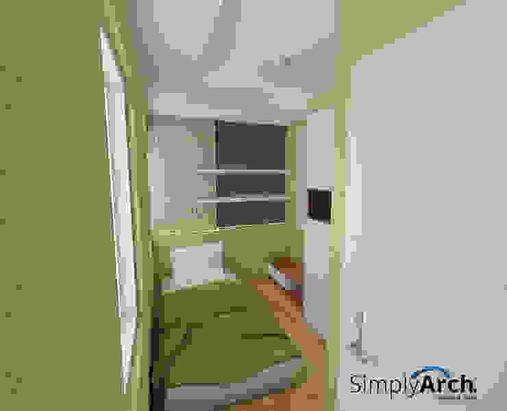 Children Bedroom Minimalist bedroom by Simply Arch. Minimalist