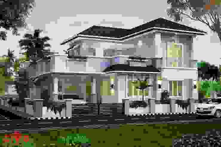 Thiết kế Biệt thự vườn đẹp bởi Công ty thiết kế biệt thự đẹp