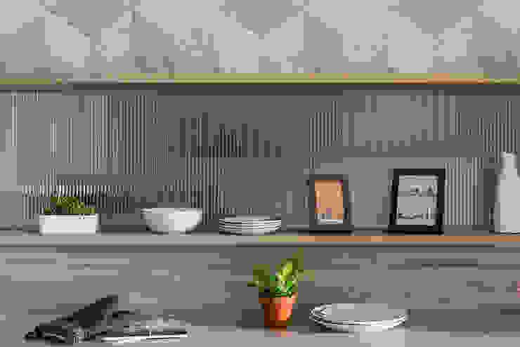 餐櫃: 斯堪的納維亞  by 達譽設計, 北歐風 玻璃