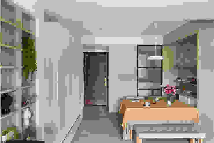 餐廳 斯堪的納維亞風格的走廊,走廊和樓梯 根據 達譽設計 北歐風
