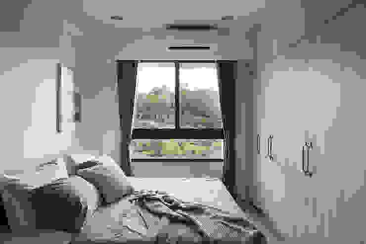 臥室 根據 達譽設計 北歐風
