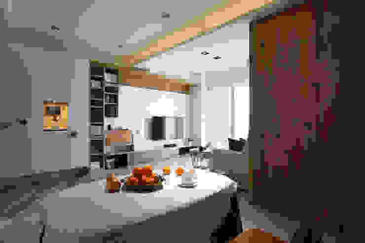 日式無印收納宅 樑修飾天花板 根據 達譽設計 北歐風 實木 Multicolored
