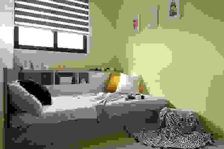 達譽設計 Kamar tidur anak Kayu Buatan Yellow